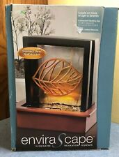 HoMedics EnviraScape Illuminated Relaxation Fountain Stainless Steel wall accent
