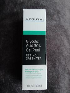 Peeling gel 30% acide glycolique,30ml NEUF