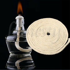 1M Cotton Wick Burner For Oil Kerosene Alcohol Lamp Torch Wine Bottle Dia 8mm