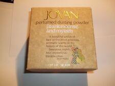 Jovan Frankincense & Myrrh 5 Oz Perfumed Dusting Powder Sealed in Box RARE