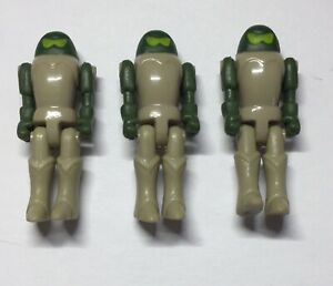 "Vintage TONKA LEGIONS OF POWER Space Attackers CREAM PILOT ""Trooper"" Figure 1986"