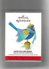 "2014 Hallmark 12 Days of Christmas ""Four Calling Birds"" #4 In Series"