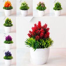 Exterior Flor Falso Plantas Flores Artificial Decoración Del Jardín Con / Maceta