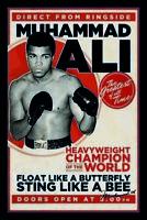 Muhammad Ali The Greatest Blechschild Schild gewölbt Metal Tin Sign 20 x 30 cm