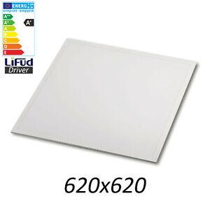 LED Panel Premium 62x62 cm 40W BACKLIGHT Leuchte Rasterdeckenleuchte Lifud-Trafo