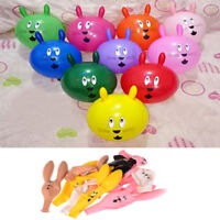 10Pcs Cute Rabbit Ears Latex Balloons Party Baby Birthday Supplies Decor BB
