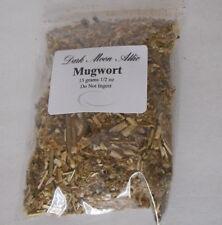2 grams  dried MUGWORT herb/plant (safe travel, spiritualism)