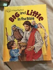 Happy Day Bks.: Big and Little in the Bible by Tina Brewer (1985, Hardcover)