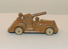 Manoil Artillery Truck with 2 men  over 3 inches  (13022)