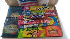 American Candy Box Hamper of Sweets and Chocolate By iCandy 15 Items Gift - CT1
