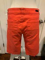 KUT From The Kloth Drak Orange Capri Shorts, Size 6 (US)