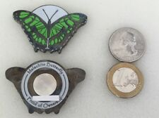 ☆☆ Malachite Butterfly Geocoin & Proxy Unactivated Trackable