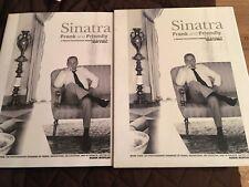 FRANK SINATRA - FRANK AND FRIENDLY - HARDBACK WITH SLIP COVER - PHOTOS