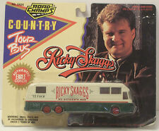 "Road Champs Ricky Skaggs Country Tour Bus 6"" New In Package"