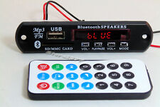 Bluetooth LED Screen DIY USB SD MP3 WMA Decoder Player with Remote Audio s778