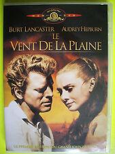 DVD   LE VENT DE LA PLAINE  avec Burt LANCASTER et Audrey HEPBURN