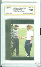 Tiger Woods Graded Mint 10, 2001 Upper Deck Golf  #TT30
