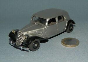 Roland Devos Créations 1/43 : Citroën Traction 11cv Normale Berline 1934