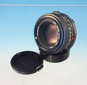 Minolta MD Objektiv lens 1.7/50mm - (31953)