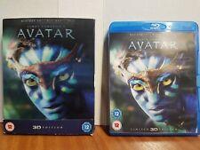 avatar blu ray 3d with sleeve