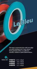 "FBS 1/4"" x 60 Yd BLUE WATERBORNE FINE LINE MASKING ROLL AUTO 48685"