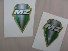 MZ SM SX RT 125 & Baghira  Plakette Aufkleber Dekor Original (2 Stück)