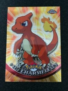 Pokemon Topps Chrome Holo #05 Charmeleon Mint/NM