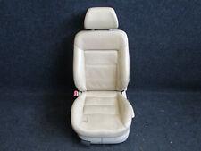 LEDER Fahrersitz VW Passat 3BG beige Sitz Ausstattung