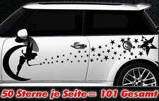 101 Sterne Star Auto Aufkleber Set Sticker Tuning Fee Stylin WANDTATTOO