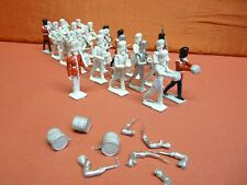 Prince August Moulds Toy Soldiers, 22 Metal Bandsmen