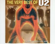 CDU2the very best of U2 Limted edition 2001RARE  (R2417)