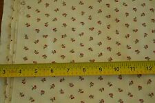 "By-the-Half-Yard, 44"" Wide, Red & Green on Cream Quilter's Cotton, Moda, M4540"