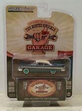 GREENLIGHT GREEN MACHINE CHASE 1957 PLYMOUTH BELVEDERE BUSTED KNUCKLE GARAGE