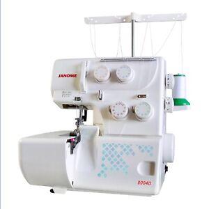 Janome Overlocker 8004D Serger Machine Overlock mylock beginner sewing machines