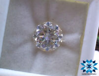 8.00mm ROUND BRILLIANT CUT VS FIERY LOOK NEAR WHITE I-J COLOR LOOSE MOISSANITE