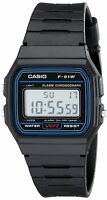 Casio F-91W Stopwatch Alarm Classic Black Watch - Seller refurbished