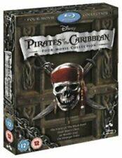 Pirates of The Caribbean 1-4 8717418316730 With Naomie Harris Blu-ray Region B