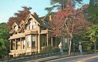 Vintage Postcard Marin County Historical Society Museum San Rafael CA California