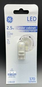 Warm White 25W Replacement LED G8 Base T4 Light Bulb (1 Pack) New