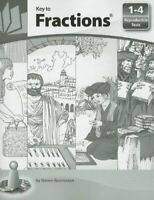Key to Fractions: Reproducible Tests, Books 1 - 4 by Steven Rassmussen (Paper…
