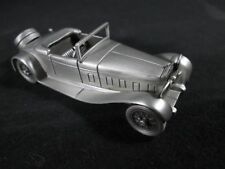 ~ NEW ~ VINTAGE ~ 1932 DELAGE D-8 GRAND SPORT ~ DANBURY MINT ~ Metal PEWTER Car