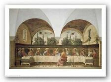 The Last Supper Domenico Ghirlandaio Art Print 31x20