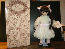 "Vintage & Rare Porcelain Doll By Pauline Limited Edition Renoir ""Pink""-New-Last"