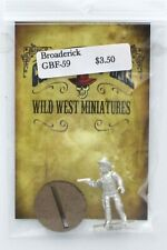 Knuckleduster GBF59 Broaderick (Gunfighter's Ball) Old West Gunslinger Gambler