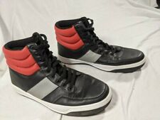 EUC Sean John Mens Dagger Black/Red Fashion Sneakers Size 12 Shoes (132832)
