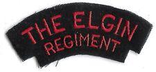 Canadian Army The Elgin Regiment Battle Dress Shoulder Flash