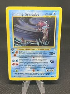 Shining Gyarados 65/64 1st Edition Holo Pokemon Neo Revelation (R5)