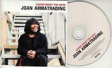 JOAN ARMATRADING Loving What You Hate 2018 UK 3-trk promo test CD
