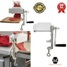 Manual Meat Cuber And Tenderizer Hand Crank Machine Commercial Grade Kitchen