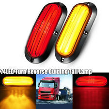 Car Turn Reverse Heavy Truck Guiding Tail Lamp Stop Rear Brake Light Red&Yellow